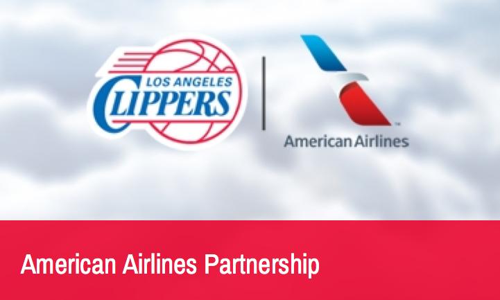 American Airlines es nuevo patrocinador de Los Angeles Clippers
