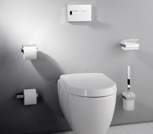 Huis interieur wc ontwerp toilet ontwerp - Accessoires toilettes design ...