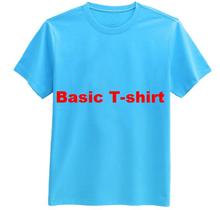 Production Sequence of a Basic T-shirt