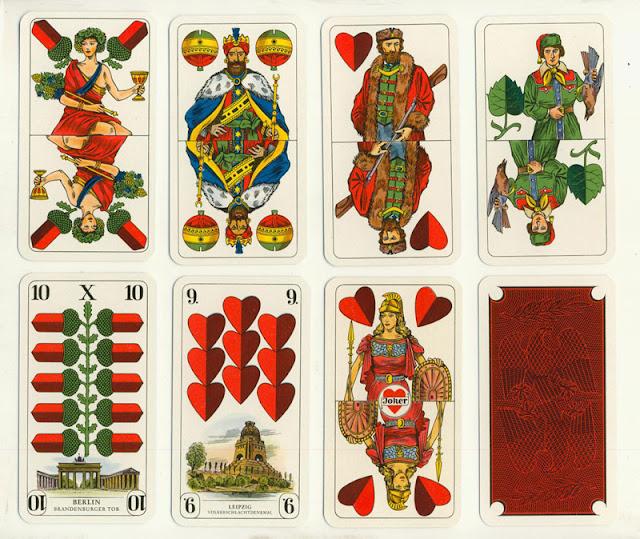 немецкие игральные карты традиционная колода