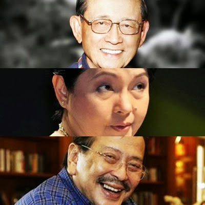 Ramos, Arroyo and Estrada. Will they form an alliance come 2016 national elections?