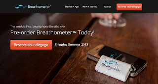 Breathometer introduces smartphone breathalyzer