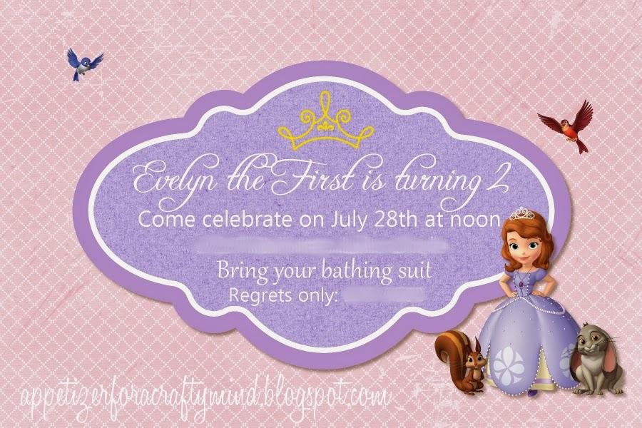 Princess Party Invitation for good invitation design
