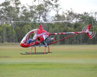 Helicóptero Cicaré CH-7B Vuela En Australia Ch-7bAU