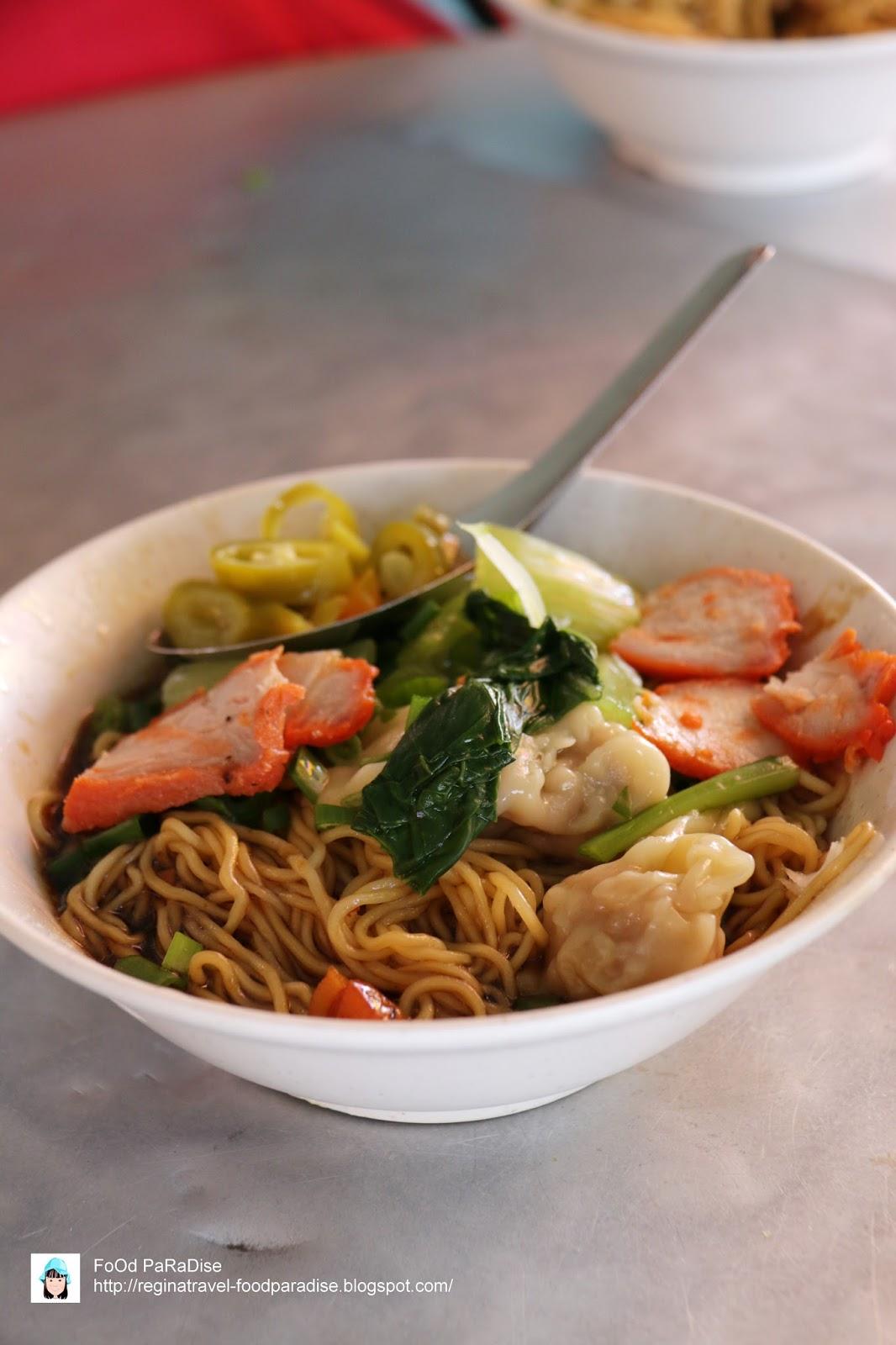 Food paradise wantan mee lebuh melayu penang for Cuisine paradise