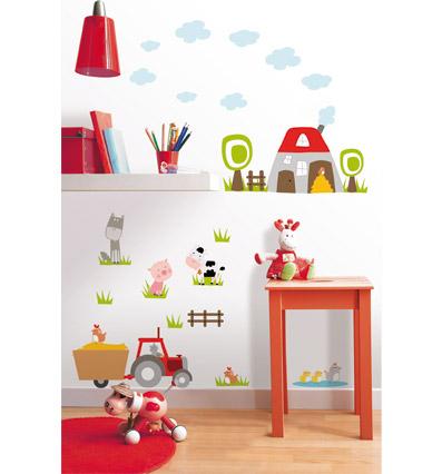 Decoraci n de la casa decoraci n de la habitacion de los for Stickers para habitaciones
