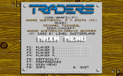 Traders - The Intergalactic Trading Game