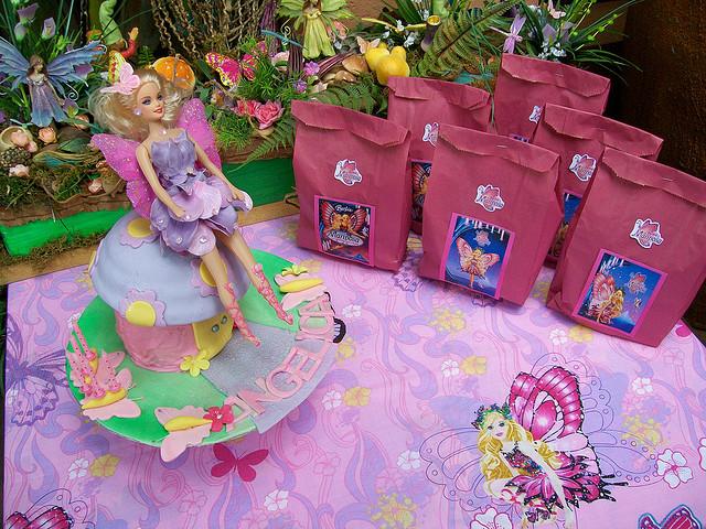 Decoración para cumpleaños infantiles de Barbie - Imagui