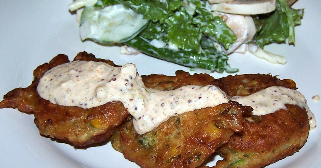 Olla-Podrida: Corn Fritters with Spicy Remoulade