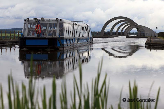Falkirk, Falkirk Wheel, Scotland,