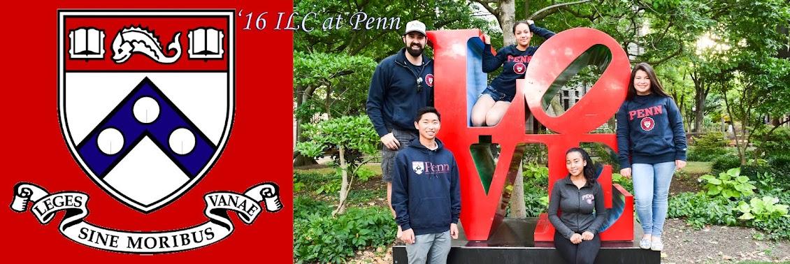 '16 ILC at Penn