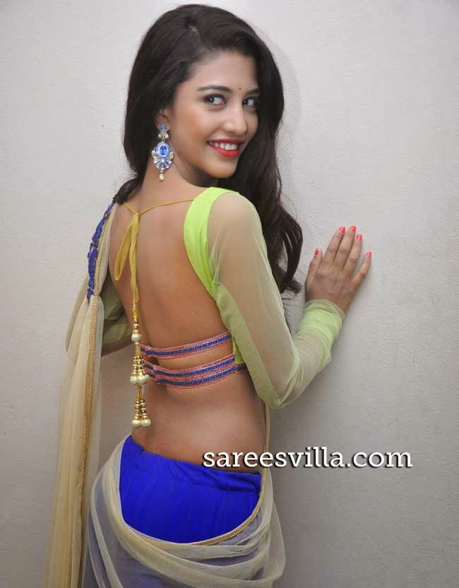 Daksha Nagarkar In Backless Blouse