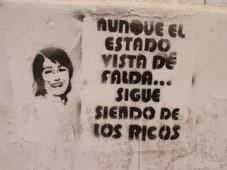 AUNQUE EL E$TADO SE VISTA DE FALDA