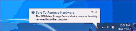safely remove hardware option