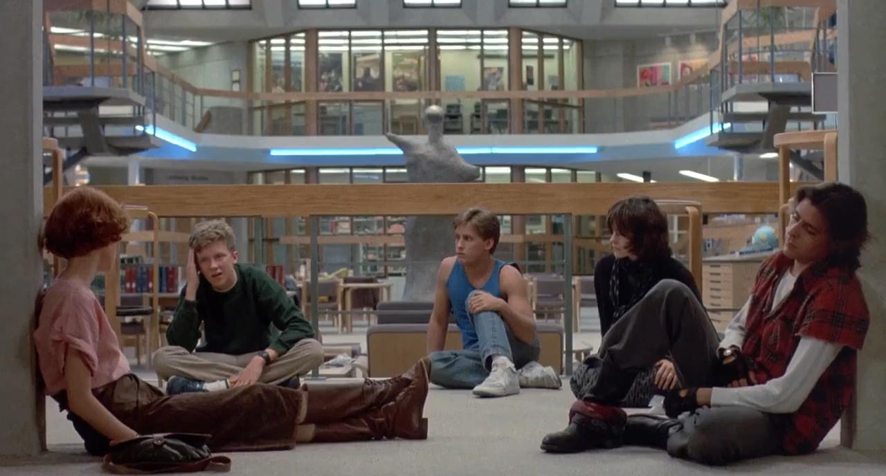 review of the movie the breakfast club The breakfast club: smells like teen realness john hughes created the blueprint for the american teen movie with this pop-culture phenomenon,.