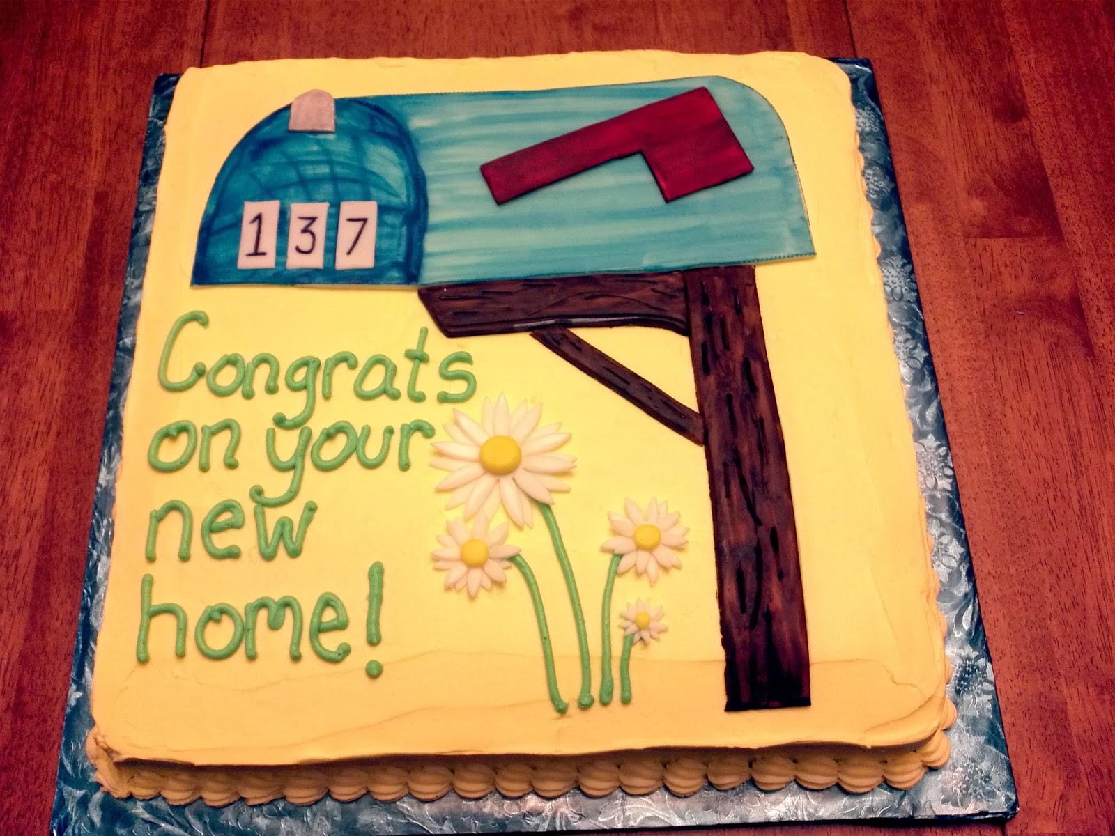 Cakes: Housewarming Party Cake