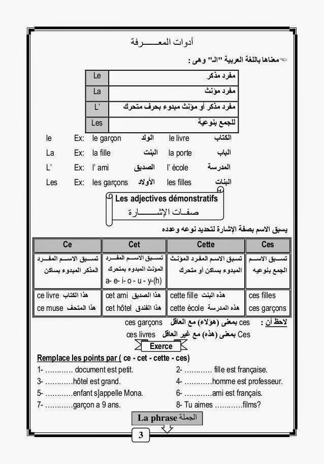 قواعد و أساسيات نطق الفرنسية لطلاب اللغات والحكومى مشروح عربى 1012909_101528117995