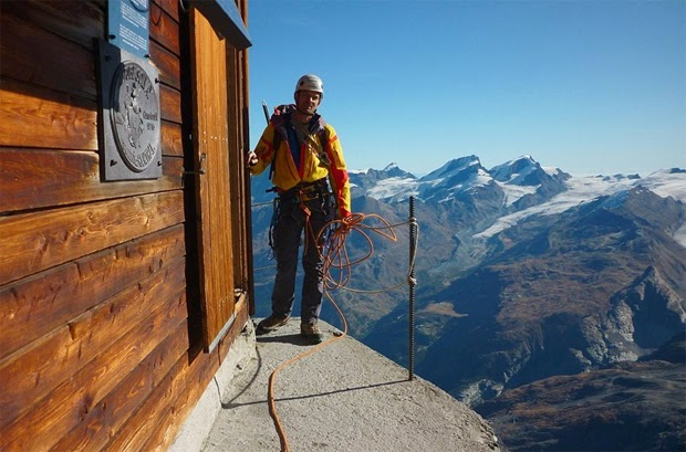 Solvay Hut switzerland
