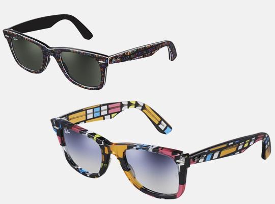 Os óculos Wayfarer da Ray-Ban viraram um sucesso nos anos 60 com Audrey  Hepburn usando no filme Bonequinha de Luxo. A nova coleção traz modelos  coloridos, ... ca490bb9bb