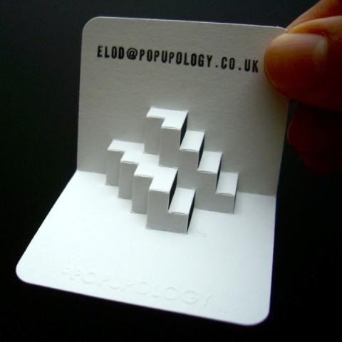 3D Style Business Cards by Elod Beregszaszi DezignHD