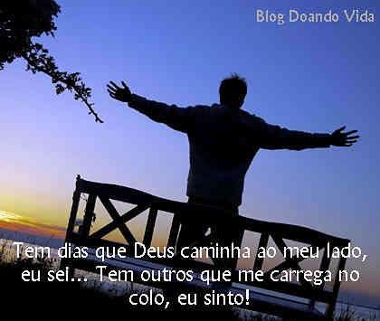 Com fé, Deus caminha ao nosso lado
