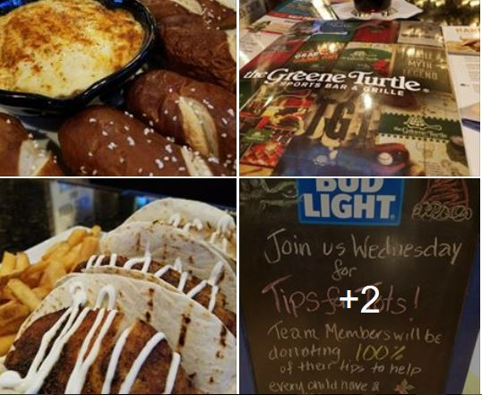WED DEC 13TH TIPS FOR TOTS @ THE GREENE TURTLE SPORTS BAR & GRILLE