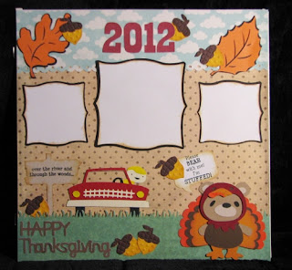 12x12 Thanksgiving Layout