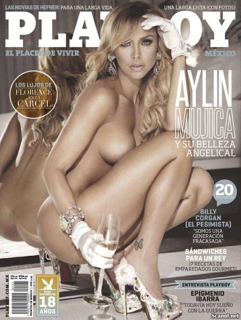 Aylin Mujica Revista Playboy México Marzo 2013