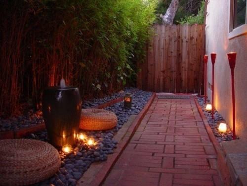 Small Side Yard Zen Garden Ideas~ Plantas Forrageiras Jardim