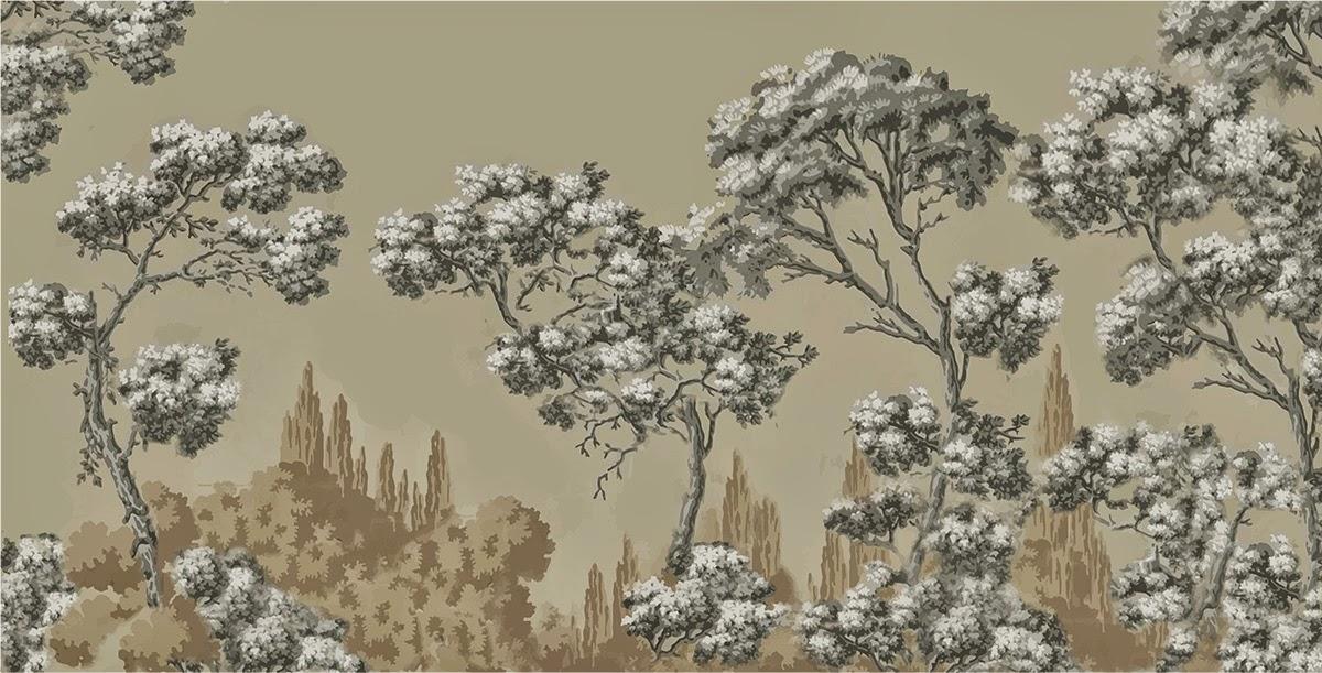 Ananbô: Papiers Peints Panoramiques. Une nouvelle collection imprimée