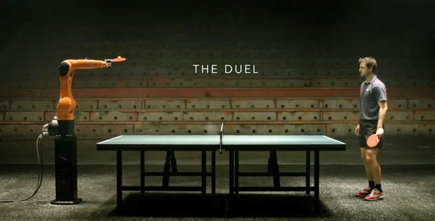 Find out who will win, Timo Boll vs KUKA Robot?