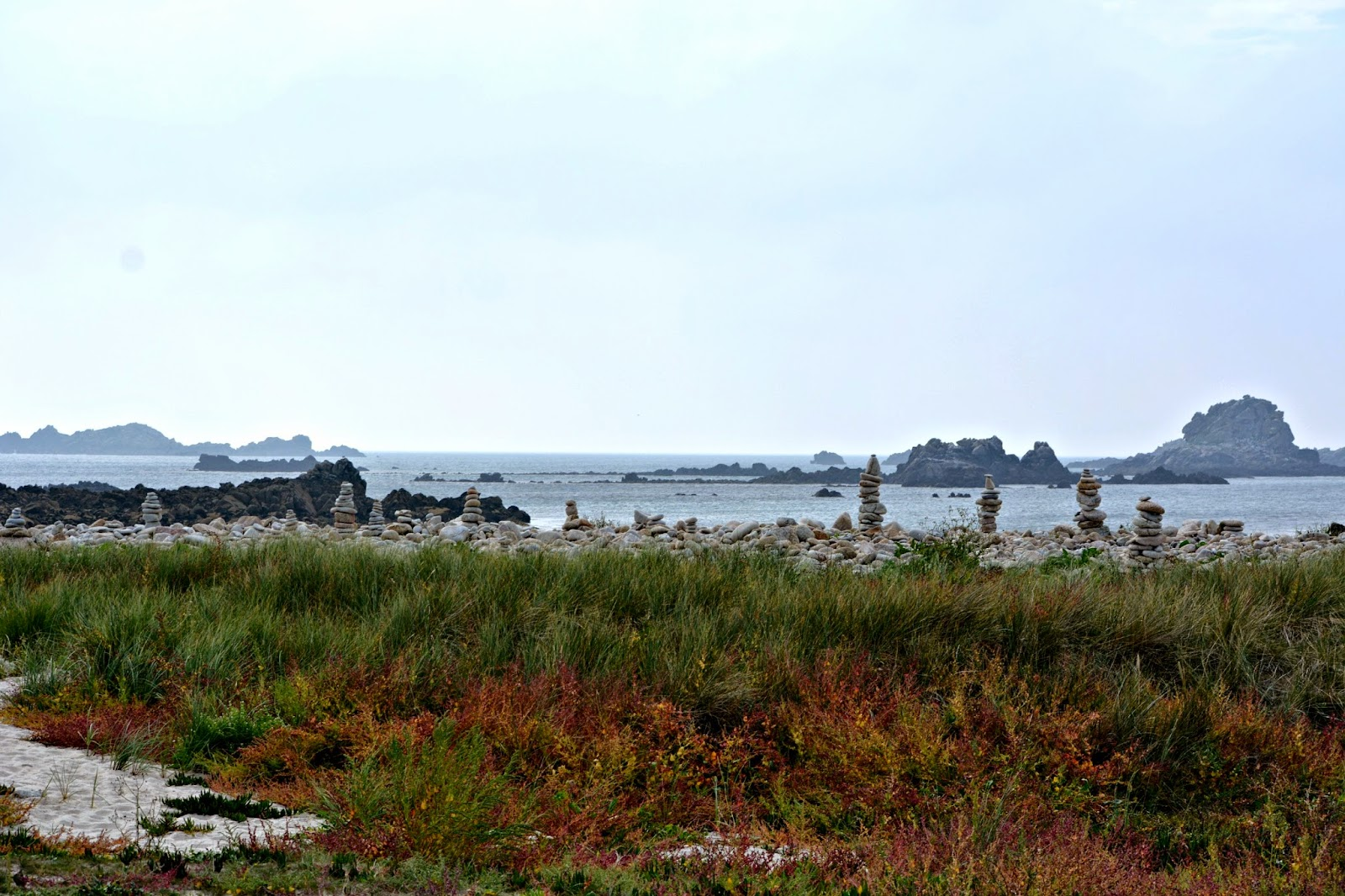 View from Bryher Isles of scilly