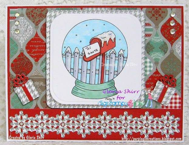 Featured Card for ABC Christmas Challenge