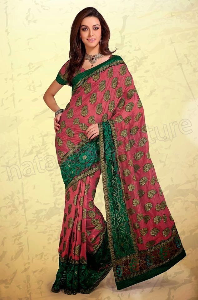 Strikingly Beautiful Collection Of Silk Sarees New