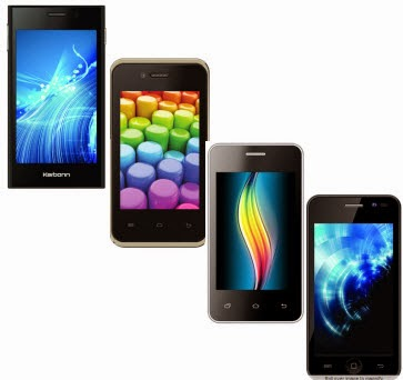 Buy Karbonn Mobiles Smart A50s Rs. 2699, Smart A52 Plus Rs. 2699, Smart A12 Star Rs. 3949 & Smart A11 Star Rs. 4049