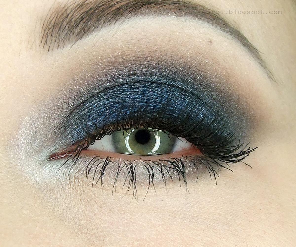 Blue Smoky Eyes Makijaż Krok Po Kroku Uroda Zblogowani