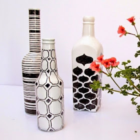 Kids Origami Instructions Easy Recycle Craft Decorative Painted Bottle Ideas