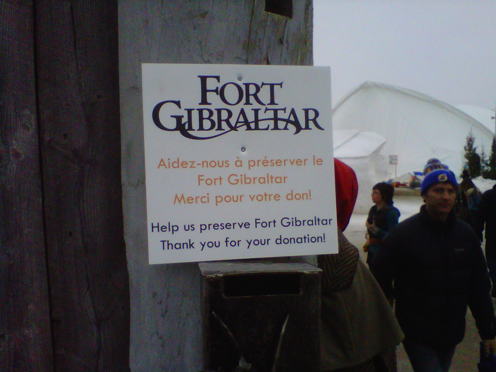 a reconstructed fort gibraltar in saint boniface winnipeg site of festival du voyageur