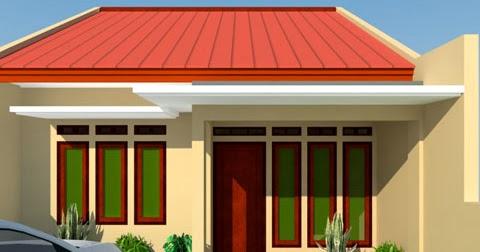 desain rumah sederhana minimalis type 45 m2 tanah 90 m2