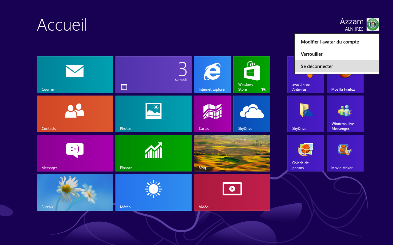 Windows 8 comment afficher le bureau au demarrage - Afficher ordinateur sur bureau windows 8 ...