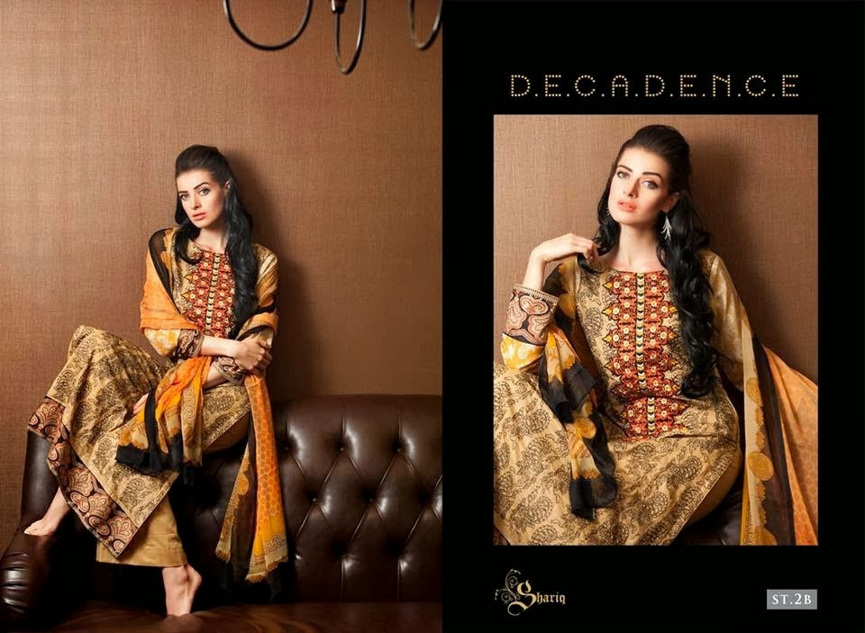 Embroidered Lawn Suits By Shariq Textile