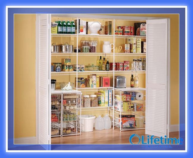 Dise os de muebles despensa pantry madera y melamina web - Armarios despensa ...