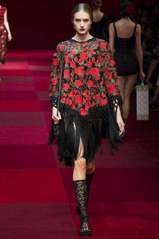 Dolce&Gabbana meias até joelho 2015