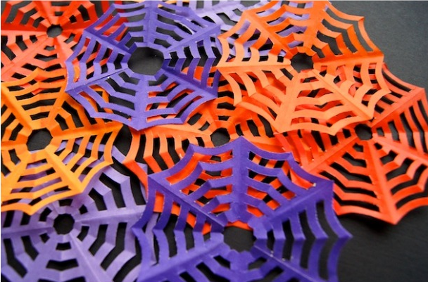 Be Different...Act Normal: Paper Spider Web Tutorial [Halloween ...