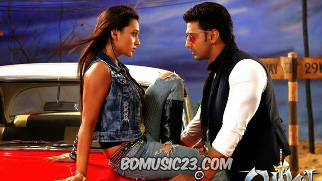 Aami Tomar Kache Yoddha Arijit Singh, Prasen, Dev, Mimi Chakraborty, Nigel, Rajatava Dutta Bangla Movie Song 2014