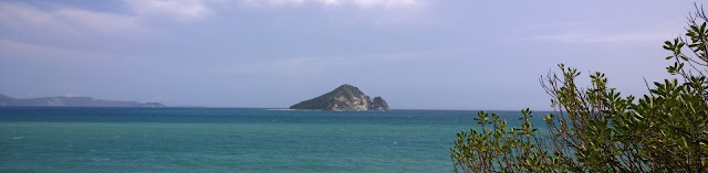 Turtle Island from the shore