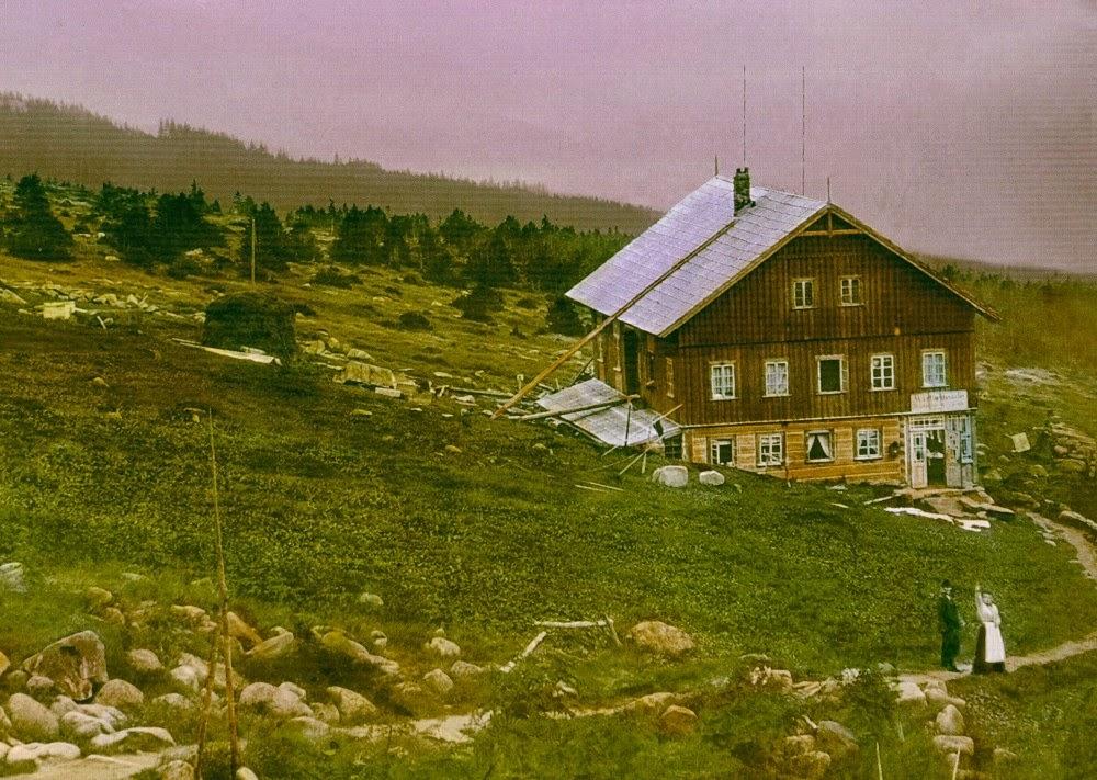 Martinova bouda kolem roku 1905