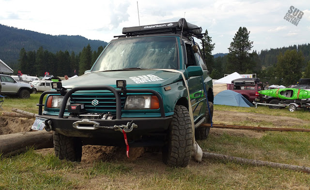 The Teal Terror at the 2015 NW Overland Rally