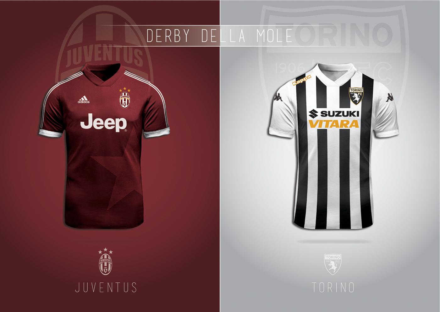 0b54bcffb0 Designer idealiza camisas com as cores de clubes rivais - Show de ...