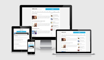 Simple and Fast  SEO Responsive Blogger template